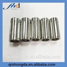 CNC lathe machining micro stainless steel tube