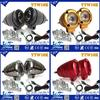 Y&T 10w motorcycle led lighting, headlights wiring harness, popular motorcycle light 9-30V Universal input voltage