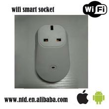 Home Smart Wireless Plug,Remote Control WiFi Socket,Support 110v/220V Power