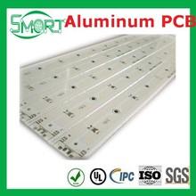 Smart Bes~ Aluminum Single-sided PCB with 100% Fixture E-test and Solderability,aluminum material pcb, aluminum base led pcb,