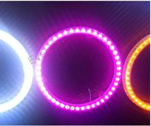 CCFL led Auto Light Halo Circle Ring Headlight 80MM / 100MM Angel Eyes Kit LED Monty Eyes LED Fog light Daytime running lights