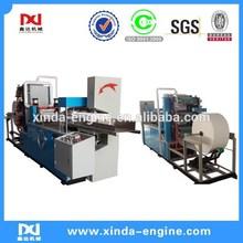 2colors flexo printing napkin serviette tissue converting production equipment machine table napkin paper NP7000A