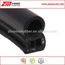 Molded EPDM rubber door seal