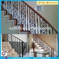 De aço da escada de madeira corrimão design/interior escadas corrimão design, fabricadas corrimão e grades