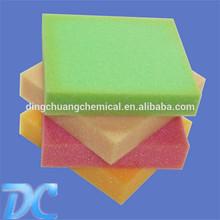 low recovery foam/memory foam pieces/sponge