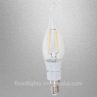 2015 360 degree cob filament led bulb 2w