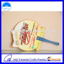 Cheap Small Fan PP Material Mini Hand Fan Plastic Sticks