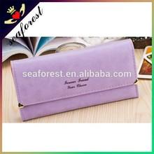 2015 new fashion ladies hand wallet cheap pu purse