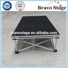 Plywood Stage Aluminum Stage