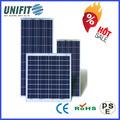 Fabricante de china de agua- prof el panel solar 200w 12v con el ce y tuv