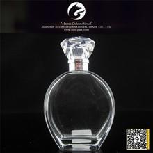 New style fashion design perfume glass bottle black