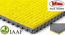 IAAF approved 400m standard stadium rubber running track