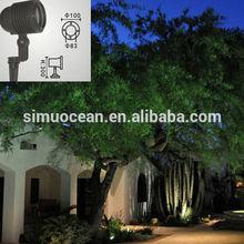 6 W humidity- proof led Garden Spotlights for garden, landscape free sample