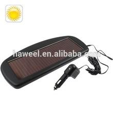 12V Smart Solar Battery Charger for cars/trucks/boats(Black)