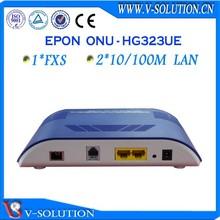 V-solution 2fe + 1fxs voip fiber gepon ftth onu optical network unit