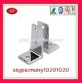 Alta precisa pequeno / mini prata / de anodização claro l suportes de alumínio, L forma suporte de alumínio, Camera l suporte stamping metal parte