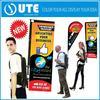 hot sell advertising backpack flying banner,x banner,backpack flag banner