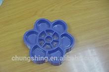 Flower Shape Antistatic Plastic Tray