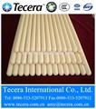 tubos cerâmicos refratários de alumina tubo de cerâmica de alta temperatura do forno