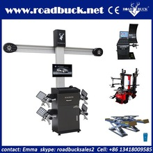 Cheapest used wheel alignment equipment/3d wheel alignment machine price/balancer/tire changer