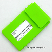 Eco-friendly silicone smart card wallet 3m sticky