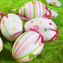2014 Hotest Clear Plastic Easter Egg / Wooden Egg DIY