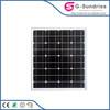 Low Price high efficiency 75-100w solar panel