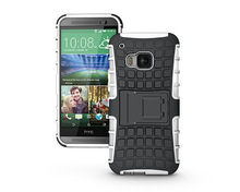 New Arrival!TPU+PC kickstand case for HTC One M9