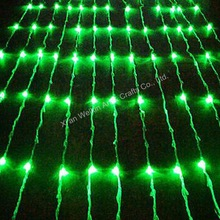 Multi-colored outdoor waterfall christmas lights 12V~240V available