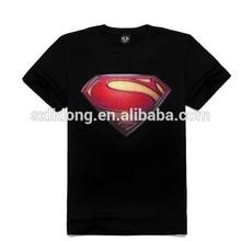china wholesale Men 3D super man T shirt