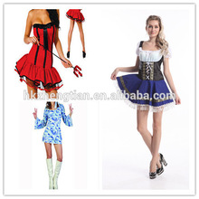 Adult drop ship carnival instylesHot sales sexy party halloween costumes idea walsonrockabilly walson