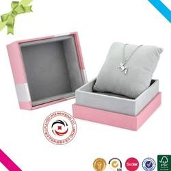 Custom factory price paper gift jewelry box