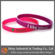 Thin Silicone Wristbands