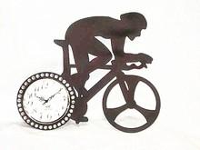 bike wall clock acrylic wall clock