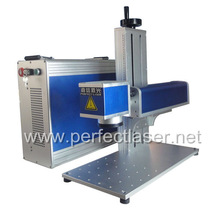 Perfect Laser 10W 20W wood/PVC/aluminium/iron/glass/rubber/stainless steel fiber small machines for home business machine