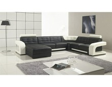 Modern and hot selling Italy leather sofa import from china