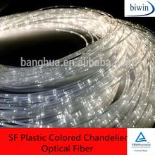 SF Plastic Colored Chandelier Optical Fiber