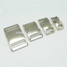 manufactory wholesale metal side release buckles/quick release buckles/breakaway buckles with various sizes