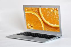 Ultra thin full metal case 1366*768 resoluation i3 i5 i7 processor laptop computer