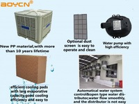 Wall split low power consuming micro air conditioner