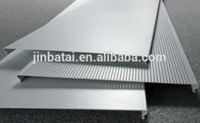 S C G H V shape strip aluminum screen ceiling for internal design
