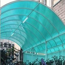 Flexible Extruded Solid Transparent Polycarbonate Plastic Sheet for Car Parking Lot
