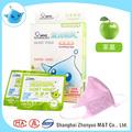 de color rosa aroma de manzana de niños 3d desodorización máscara de la cara