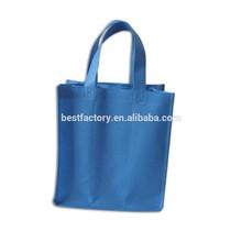 tiny clear window promotional non woven fashion handbag 2014