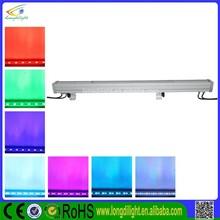 guangzhou manufactory 36*3W tri led wall washer bar,outdoor led wash bar