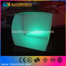 club lighting sofas/modern flashing seats/pub shining furniture