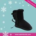 Top-Qualität zum besten verkauf in china ningbo cixi hersteller damen leder schwarz kniehohe stiefel