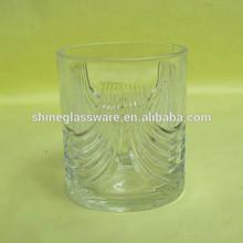 7OZ Round Unique thick bottom Whisky Glass
