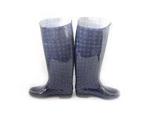 High heel rain boot shoes for ladies