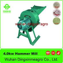 Animal Fodder Processing Machinery 4.0kw Corn Grinding Machine / Straw Grinder / Stalk Chaff Cutter